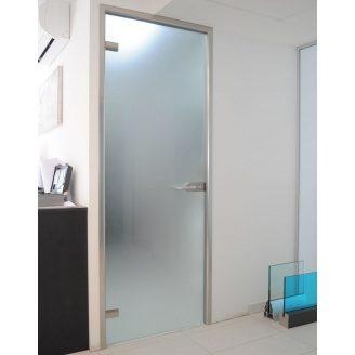 Двери стеклянные Студия каленого стекла межкомнатные 2000x800 мм