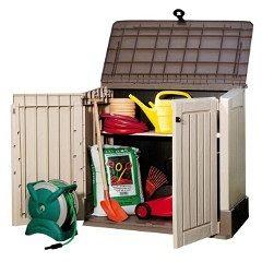 Ящики і шафи для садового інвентарю