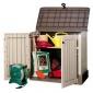 Ящики и шкафы для садового инвентаря