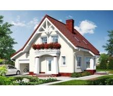 Строительство дома в винограде 11,3х8,2 м