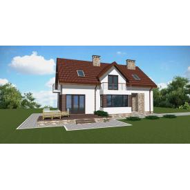 Проект двоповерхового будинку М2-127 182 м2