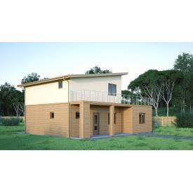 Проект двоповерхового будинку М2-122 150 м2