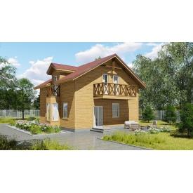 Проект двоповерхового будинку М2-116 140 м2