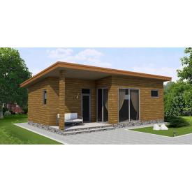 Проект одноповерхового будинку М2-109 65 м2