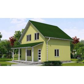Проект двоповерхового будинку М2-106 99 м2