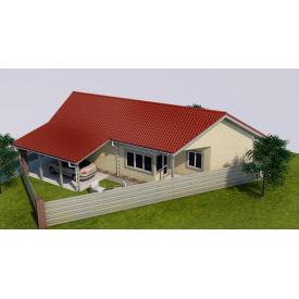 Проект будинку М2-105 80 м2
