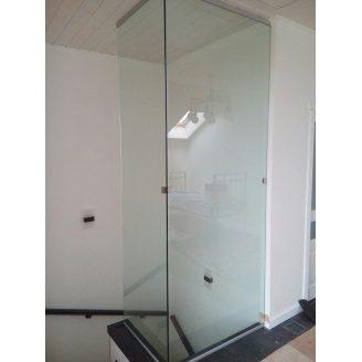 Скляна перегородка Студія гартованого скла для сходів 1800x2600 мм