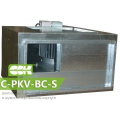 C-PKV-BC-S вентилятор канальный в шумоизолированном корпусе