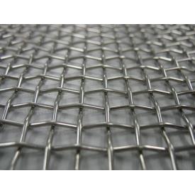 Сетка тканая из нержавейки 0,45х0,2 мм ст 12Х18Н10Т