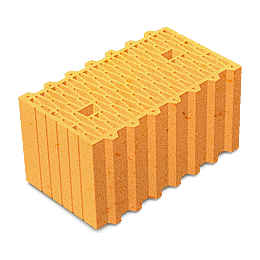 Керамический блок Керамейя ТеплоКерам поризованный 2,12 НФ М-125 250х120х138 мм