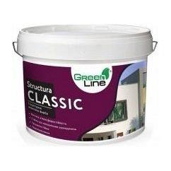 Декоративная структурная акриловая краска STRUCTURA CLASSIC 16 кг белая