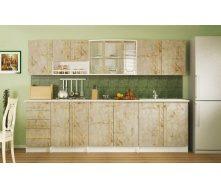 Кухня Мебель-Сервис Алина 2.6 м ольха