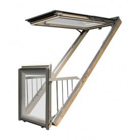 Вікно-балкон FAKRO FGH-V P2 Galeria 78х255 см