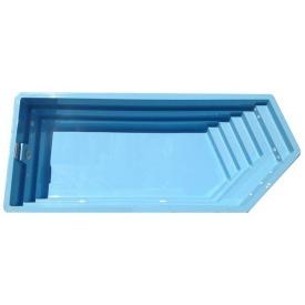 Стекловолоконный бассейн Олимпик 8,4x3,6x1,55 м