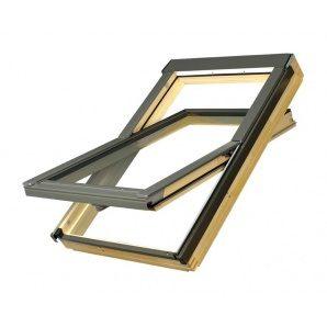 Мансардне вікно FAKRO FTS-V U4 обертальне 66x118 см