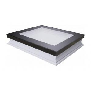 Вікно для плоского даху FAKRO DXF DU6 Secure 80x80 см