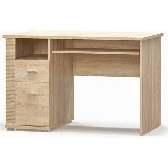 Стол Гресс 1ш1д Мебель-Сервис 1150х760х675 дуб санома