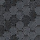 Бітумна черепиця Aquaizol Мозаїка 320х1000 мм маренго