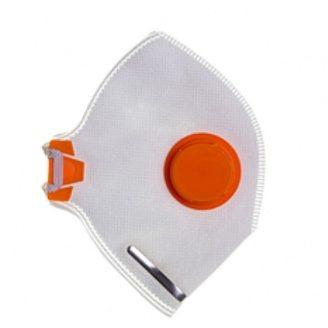 Респиратор Спектр с клапаном оранжевый DR-0005 2 ПК
