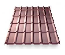 Металочерепиця Ruukki RanTech DG 43 P polyester шоколадний (Копія)
