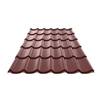 Металочерепиця Ruukki RanTech M 39 PM polyester matt шоколадний