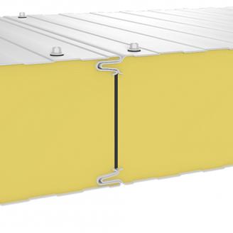 Сендвіч-панель Прушиньскі PIRTECH Standart ST стінова 1169х40 мм