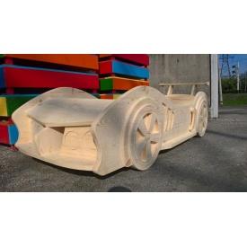 Детская кровать Машина сосна