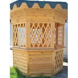 Альтанка дерев'яна ручної роботи