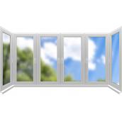 Скління П-образного балкона Konkord Classic