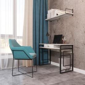 Рабочий стол Квадро Лофт Металл-Дизайн 760х1100х500 мм