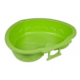 Песочница-бассейн PalPlay Сердце 90х79х21 см зеленая