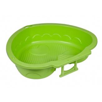 Пісочниця-басейн PalPlay Серце 90х79х21 см зелена