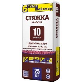 Стяжка Будмастер Доливка 10 м-150 25 кг