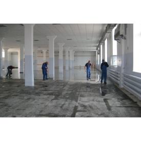 Обслуговування та ремонт бетонної промислової підлоги