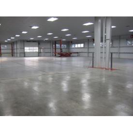 Влаштування бетонної промислової підлоги