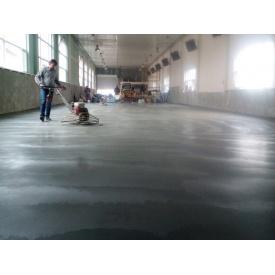 Влаштування бетонної підлоги з водовідштовхувальною поверхнею