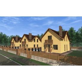 Готовий проект дерев'яного будинку