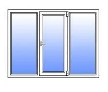 Металлопластиковое окно Стимекс KBE 58 1750х1300 мм