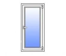 Металлопластиковое окно Стимекс Кommerling 76AD 750х1300 мм