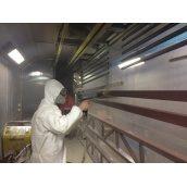 Порошкове фарбування металевих виробів для зовнішніх і внутрішніх робіт