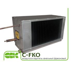 Охладитель воздуха фреоновый для прямоугольных каналов C-FKO-80-50