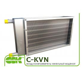 Водяной нагреватель воздуха канальный C-KVN-100-50-2