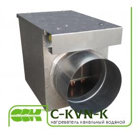 Канальный нагреватель воздуха водяной C-KVN-K-200