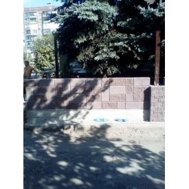Будівництво паркану з блоку