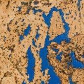 Настенная пробка Wicanders Dekwall Roots Fiord Blue 600х300х3 мм