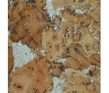 Настенная пробка Wicanders Dekwall Roots Hawai Beige 600х300х3 мм