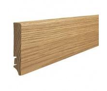 Плінтус дерев'яний Barlinek P61 Дуб 90х16х2200 мм