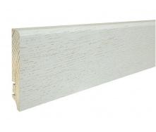 Плінтус дерев'яний Barlinek P61 Дуб Pearl 90х16х2200 мм