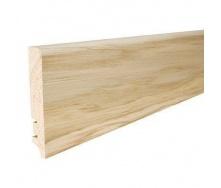 Плінтус дерев'яний Barlinek P61 Дуб білий матовий лак 90х16х2200 мм