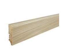 Плинтус деревянный Barlinek P50 Дуб белое масло 60х16х2200 мм